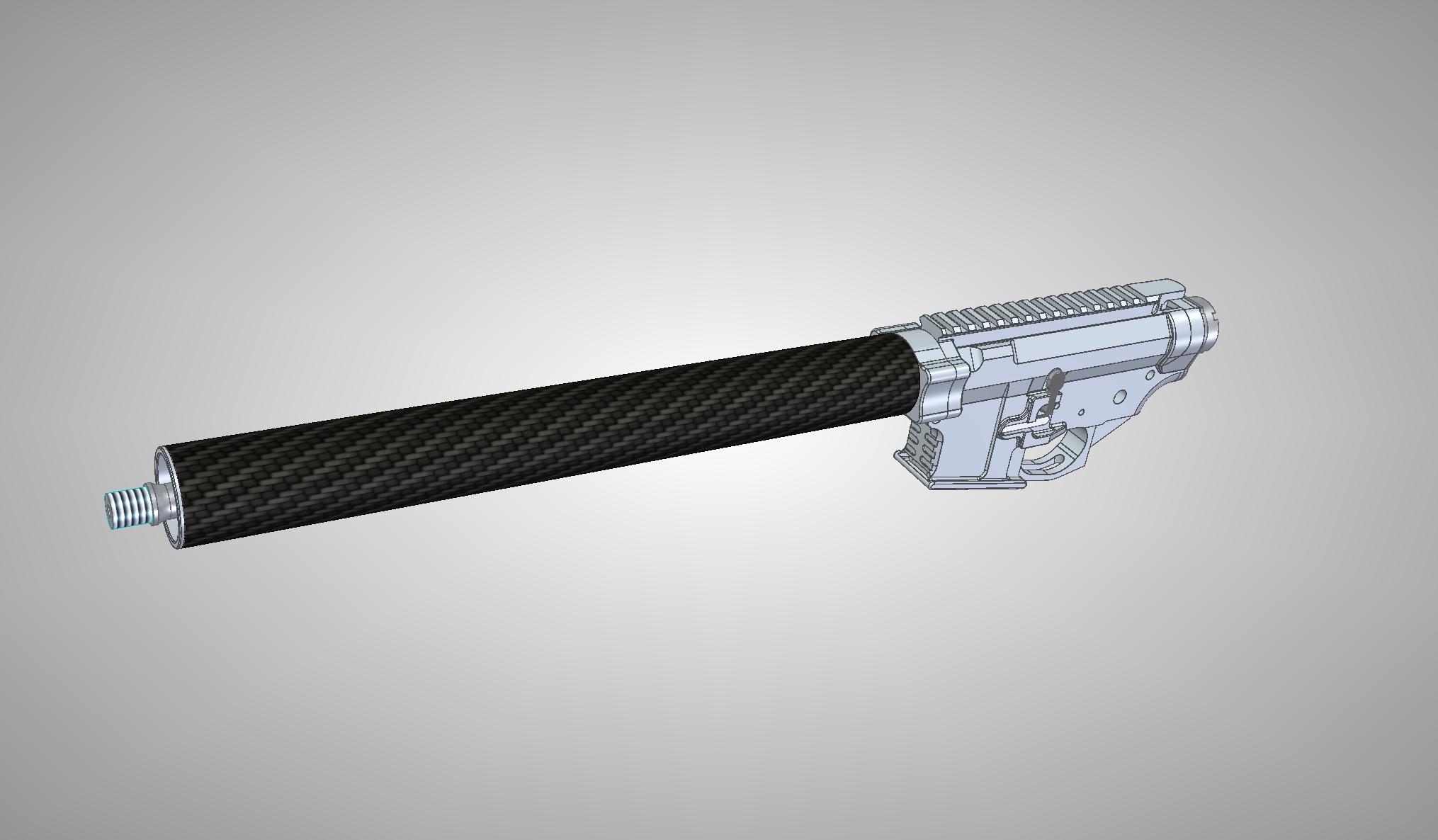 DAR IPSC DAR-15 CAD Preview 1