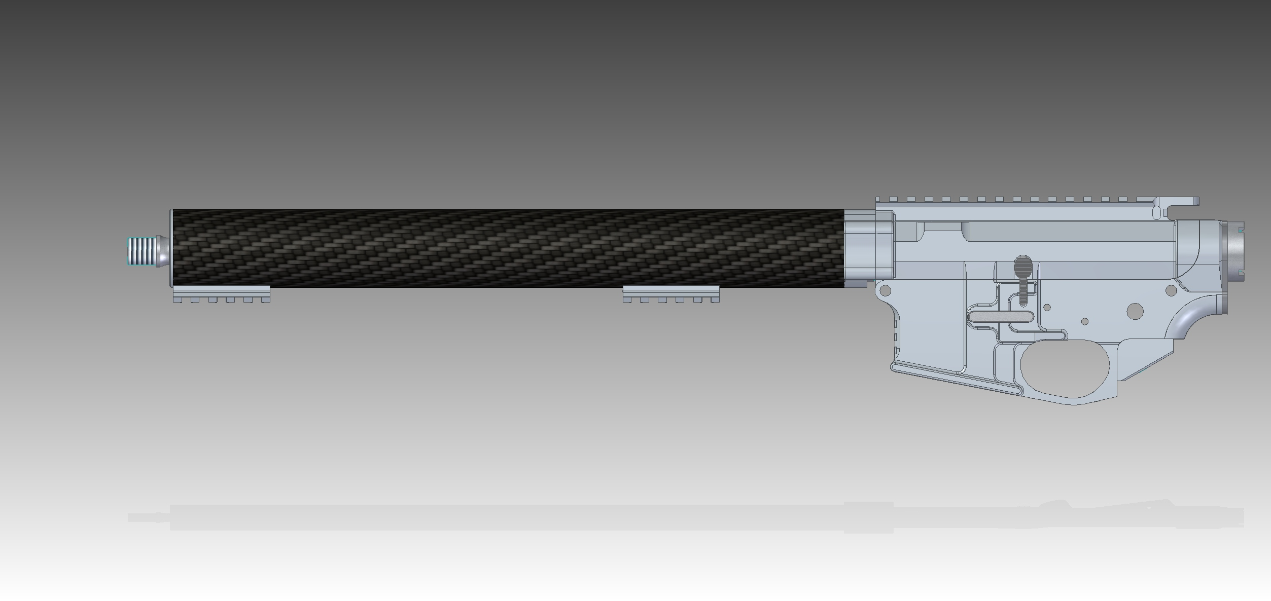 DAR IPSC DAR-15 CAD Preview 3