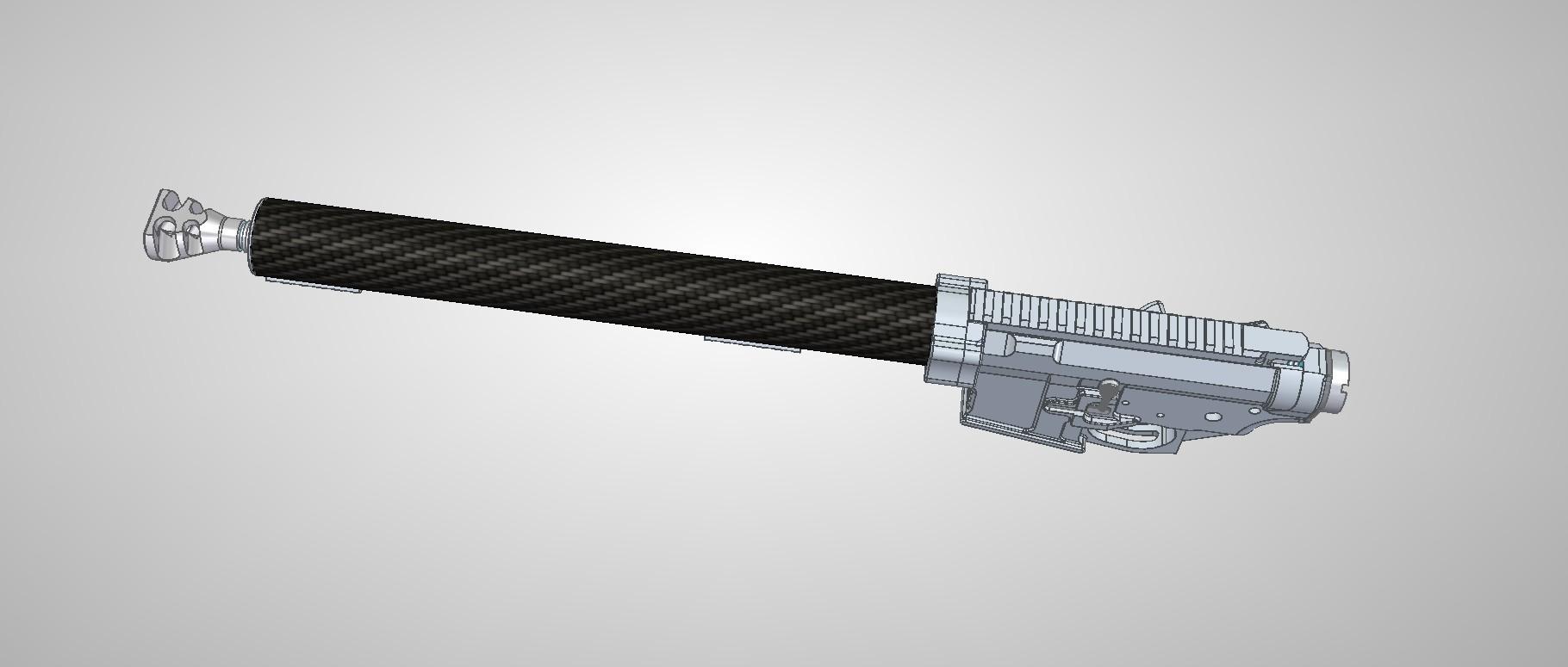 CAD Modell des neuen Systems