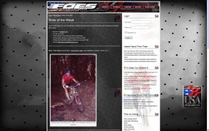 http://foesracing.com/site/more/rider-of-the-week/