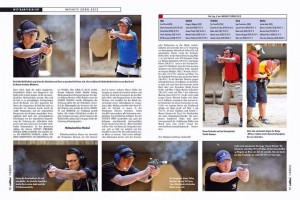 Munich City Championships - Picture of Caliber Magazine article