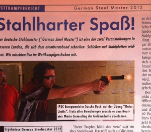 German Steelchallenge 2012 - Picture from Caliber Magazine