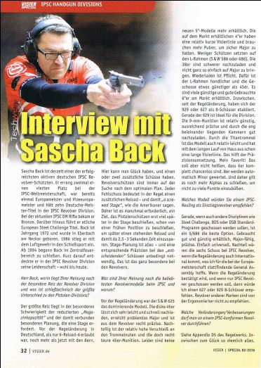 Visier Special IPSC 82-2016 Interview 1